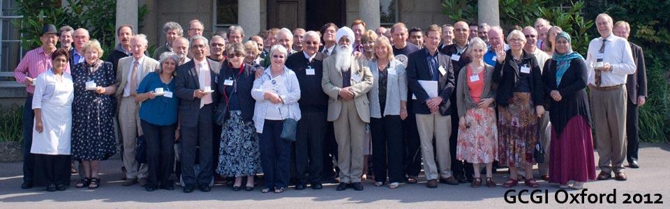 2012 Oxford Conference Participants